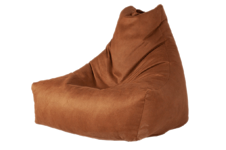 Mr.lounge beanbag cognac leatherlook